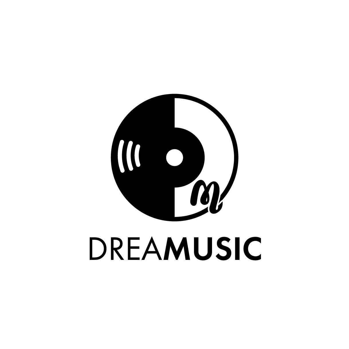 レコード会社「ドリーミュージック」のロゴ